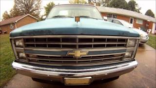 1985 Chevy Silverado 305 V8 (all Original)