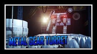 Portal Metal Gear Turret
