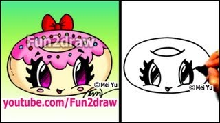 How to Draw Cute Sweet Girly Cartoons! - YouTube