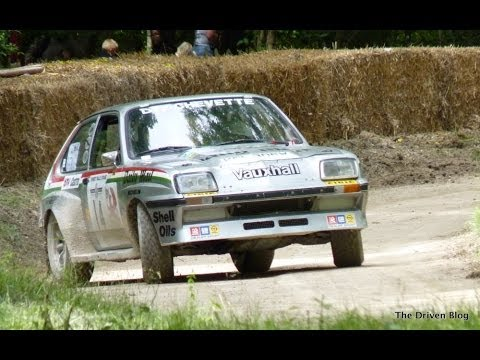 Rallying at Goodwood Festival of Speed 2012 (HD)