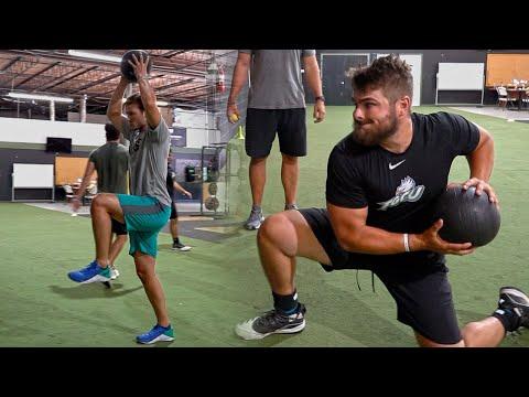 Med Ball Power Training for Baseball
