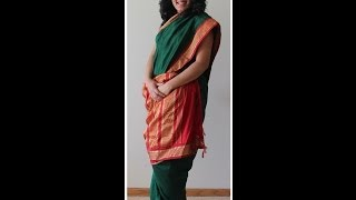 Tamil IYENGAR Nine Yard/ Madisar- How To Drape A 9
