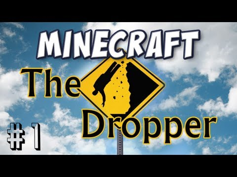 Minecraft - The Dropper Part 1 - Strap Yourself In!