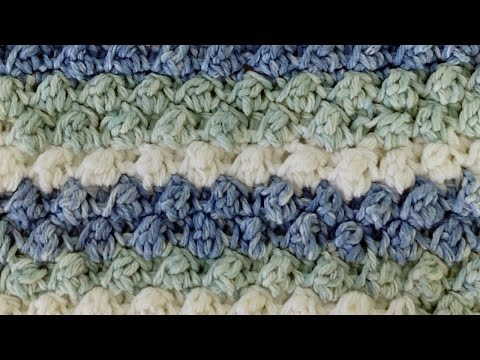 Stitch Repeat Berry Stitch Free Crochet Pattern - Right Handed