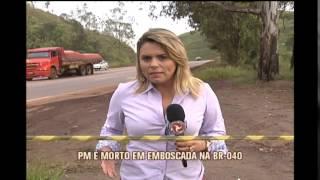 Corpo de PM morto em emboscada � velado em Barbacena