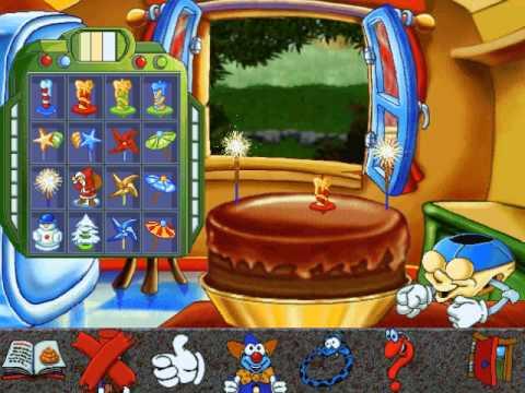 Educational Kids Computer Game Where You Make Cake
