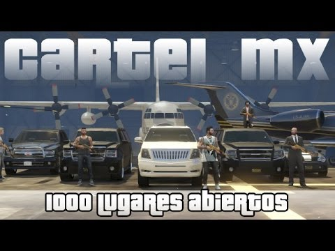 GTA V Online - Reclutando gente Unete al Cartel Mx | Unete a mi Crew 1000 lugares.!
