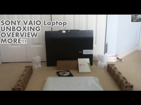 SONY VAIO 15E Intel Core i5-3337U Laptop UNBOXING/OVERVIEW 2013