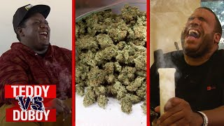 Smoking Weed Challenge | Teddy vs. DoBoy