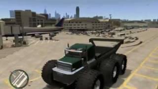 GTA IV GIANT MONSTER TRUCK CITY MAYHEM COMPLETE