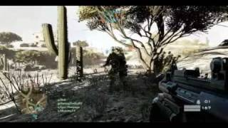 Battlefield Bad Company 2 Gameplay Video