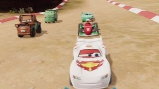 CARS ALIVE ! Cars Infinity Cave Race Whit Crystal