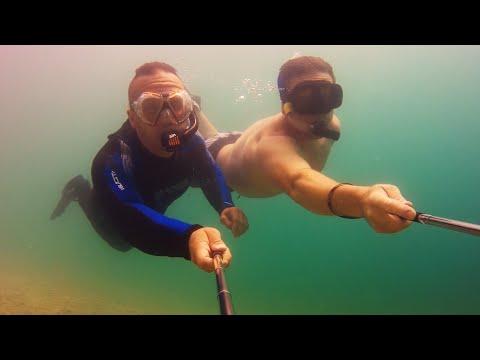 Underwater Tony and Hofi