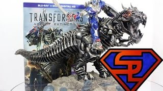 Transformers Age Of Extinction Blu-Ray Grimlock With