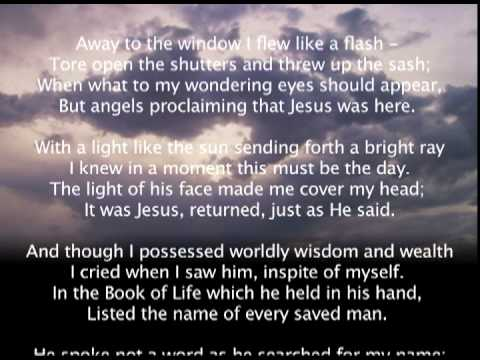 Twas The Night Before Jesus Came - Stu Phillips - YouTube