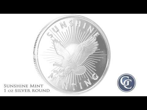 Sunshine Mint 1 oz Silver Round