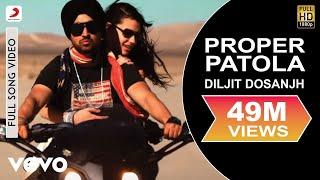 Diljit Dosanjh Proper Patola feat. Badshah Full Video