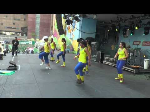 Danza Pop -  Anita - Bla Bla Bla - Fifa Fan Fest