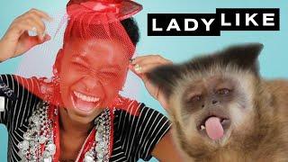 We Let A Monkey Style Us • Ladylike