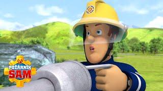 Požárník Sam - Vodné dělo