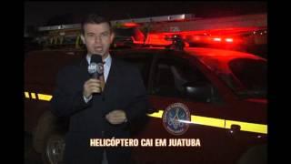 Per�cia vai determinar causas da queda de helic�ptero em Juatuba