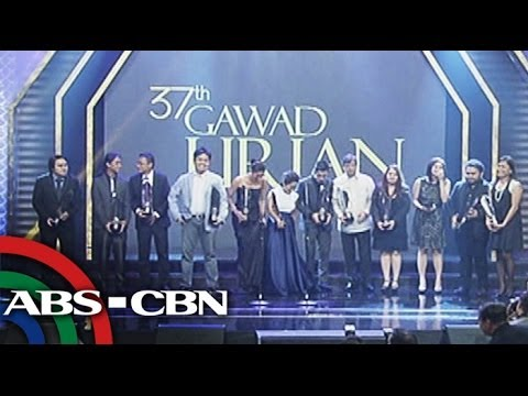 Star-studded Gawad Urian awards