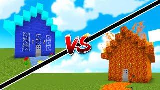 Minecraft: NHÀ LỬA NÓNG ĐẤU VỚI NHÀ NƯỚC ĐIỆN MÁY XANH!!