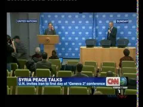 UN invites Iran to Syria peace talks