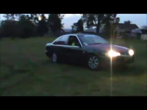 Holden VS V6 Commodore Grass Burnouts