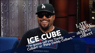 Ice Cube Explains His Moniker And Gives One To Stephen