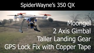 350 QX 2 Axis Gimbal Install & GPS Lock Fix
