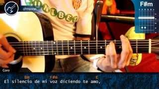 "Cómo tocar ""Tu Poeta"" de Alex Campos en Guitarra Acústica"