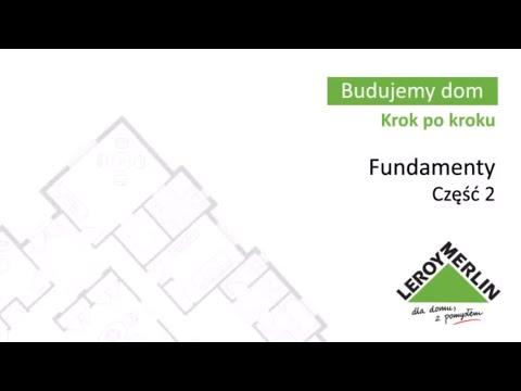 Fundamenty cz2. Budowa domu