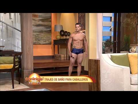 Levántate / Trajes de baño para hombres / Telemundo