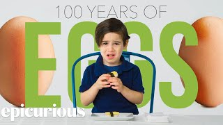Kids Try 100 Years of Eggs   Bon Appétit