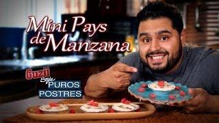 Guzii Style - Mini Pays de Manzana (Sin Horno) - Receta para 4 de Julio