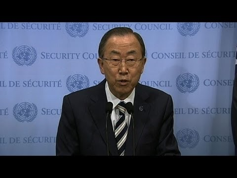 Ban Ki-moon confirms use of chemical weapons in Syria