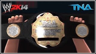 WWE 2K14 How To Get The TNA World Heavyweight Title On