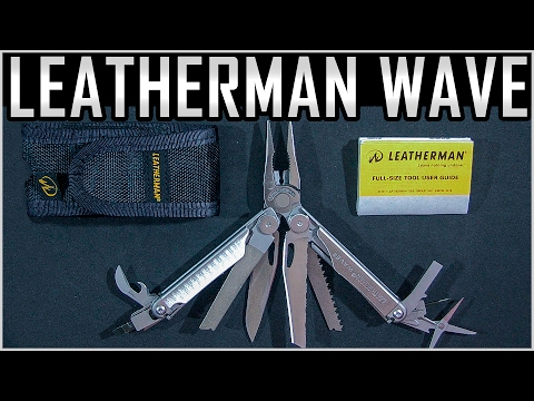 Leatherman Wave - MultiTool - Review
