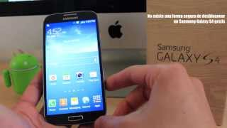 Como Liberar Samsung Galaxy S4 Muy Facil, Simple Y