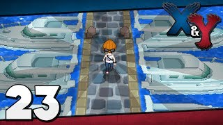 Pokémon X And Y Episode 23 Exploring Coumarine City