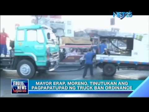 Mayor Joseph Estrada Personally Lead Truck Ban Implementation