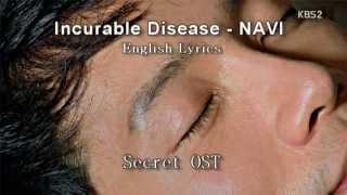 [English Lyrics] Incurable Disease Navi Feat. Kebee Of