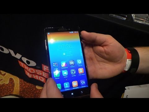 Lenovo Vibe Z Hands On - CES 2014