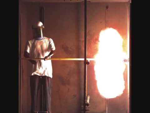 slow motion arc flash video