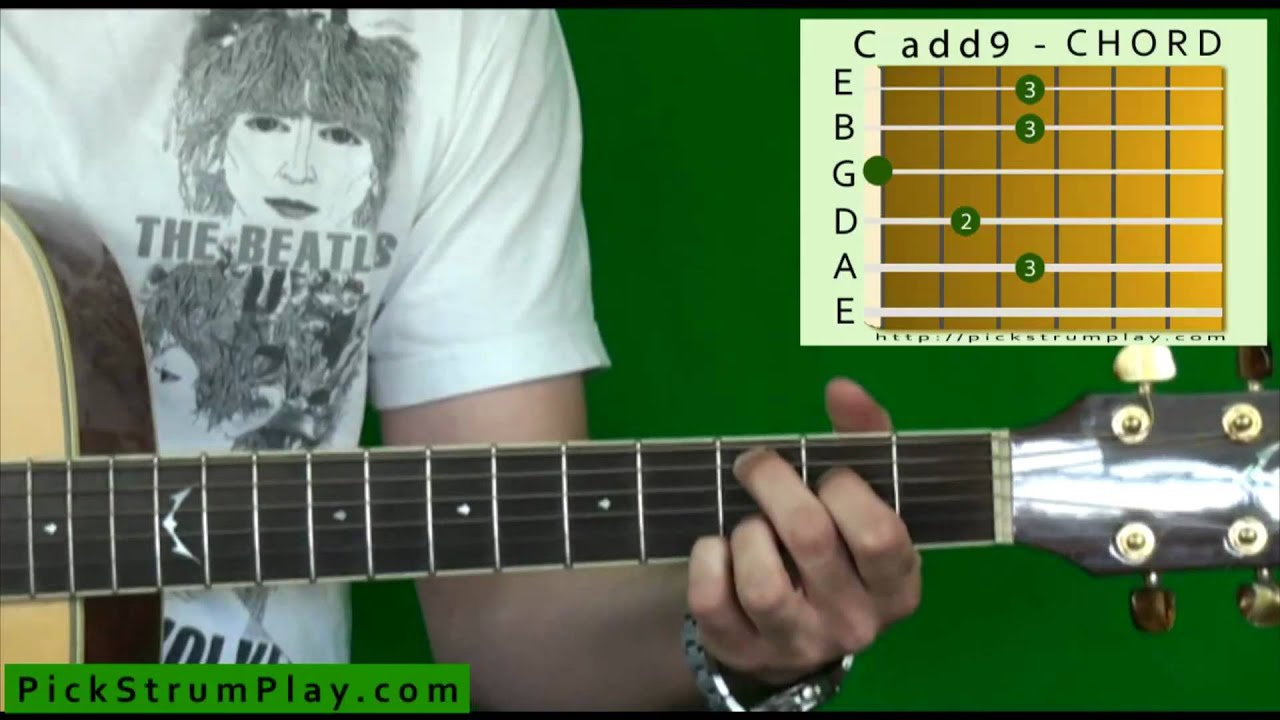 How To Play A Cadd9 Chord On Guitar