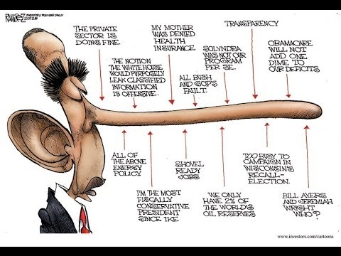 Mr.L: The Obama Legacy --From Hope & Change to Lie & Blame