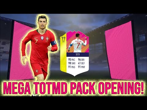 MEGA TEAM OF THE MATCHDAY & EUROPEAN HEROES PACK OPENING!   FIFA 18 CZ