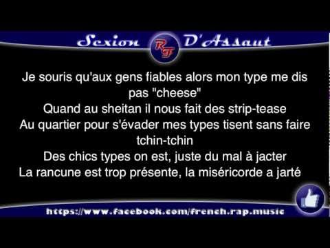 Sexion d'Assaut - L'Endurance (Paroles) HD 2012 (Lyrics)