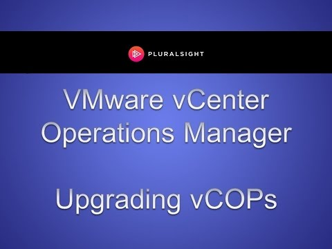 Upgrading vCOPS in vCenter Operations Manager